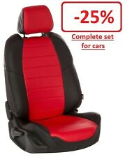 PREMIUM ECO-LEATHER CUSTOM SEAT COVERS NISSAN TIIDA II (2015+)