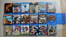 19 PS4 Games Bundle,Grand Theft Auto V PS4,Uncharted PS4,FIFA 17,Black Ops III