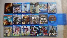 19 PS4 Games Bundle,Grand Theft Auto V PS4,Uncharted PS4,FIFA 17,Black Ops III
