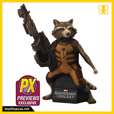 Guardians of The Galaxy Rocket Raccoon PX Exclusive Coin Bank