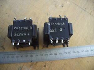 Vintage Philips Valve Output Transformers single-ended ECL82  Pair