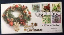 5.11.2002 Natale-firmato Thelma Barlow-Coronation Street-BENHAM FDC