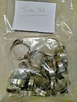 Stainless Steel Double Ear Hose Clamps Assortment Kit Product Type Rust X80
