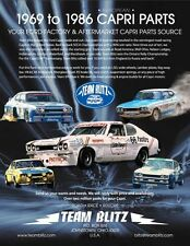Ford Capri II Chastain S/3 Stripe Kit Original Spec With New UV Tough Materials
