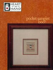 Pocket Sampler: Boo Cross Stitch Chart with Charm by Heart in Hand Needleart