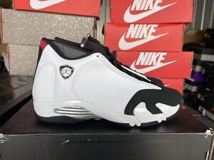 DS Nike Air Jordan XIV 14 Black Toe 2014 Size 11 100% Authentic