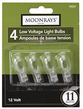 Moonrays 95527 Wedge Base T-5 Bulb, 11 Watt, Clear