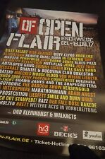 Plakat Poster Open Flair 2017 Broilers Billy Talent Biffy Clyro Alligatoah SDP