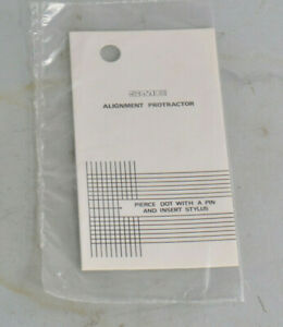 SME Alignment Protractor NEW SEALED