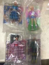 Happy Meal Barbie McDonalds 4 Total Barbies Collection