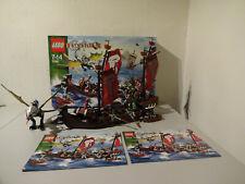 (GO) LEGO 7048 TROLL WARSHIP  MIT OVP & BA 100% KOMPLETT GEBRAUCHT