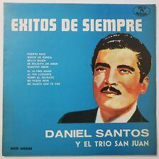 Daniel Santos Con El Trio San Juan – Exitos De Siempre LP 1979 Avila Musical