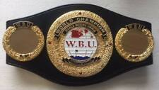 WBU World Boxing Union Championship Belts Boxing Belts adult Replica