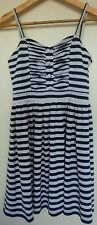 Juicy Girl Top Small 160/80A Blue & White Striped