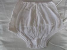 "Girls/Ladies 20"" 60's VINTAGE ""Holstar"" Brand White Eyelet Cuff Legged Knickers"