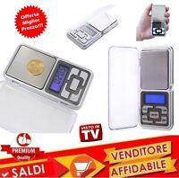 Mini Bilancia Precisione Tascabile LCD 0,01 - 200 GR Bilancino Digitale