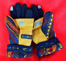 Coogi Glittens!! Recycled Wool Sweater, gloves, convertible mittens, medium