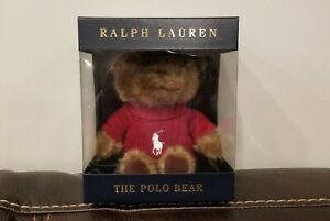 Polo Red Teddy Bear New 2020 Ralph Lauren Cologne Fragrance Promo Bear