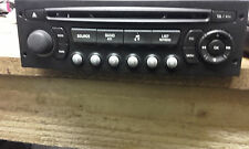 PEUGEOT EXPERT 207 307 807 CITROEN DISPATCH C2 C3 C4 C8 RD4 CD RADIO PLAYER