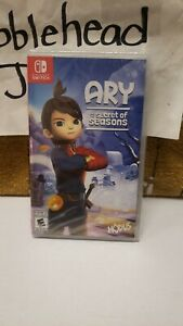 BRAND NEW SEALED ARY AND THE SECRET OF SEASONS NINTENDO SWITCH VIDEO GAME