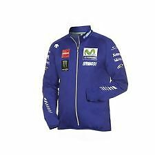 OFFICIAL 2017 YAMAHA FACTORY RACING MENS SWEAT JACKET BY DESCENTE SIZE MEDIUM
