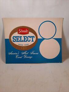 Vintage Schmidt select near Beer promo Beer Poster  schmidts