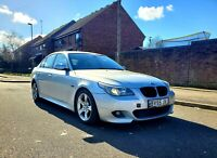 2005 55 BMW 535D M Sport AUTO Saloon twin turbo 300+ bhp  MOT FSH  PX !