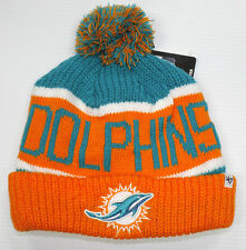 NFL NEW AUTHENTIC 47 BRAND MIAMI DOLPHINS BEANIE HAT FALL - WINTER