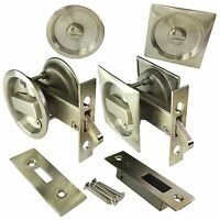 Sliding & Bi-Fold Door Privacy Lock Bathroom Ensuite Toilet Claw Bolt UK Quality