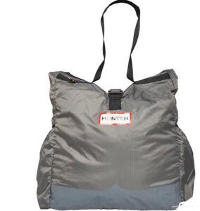 Hunter Original Womens Ripstop Packable Large Tote Bag Mere Grey new
