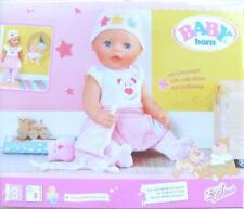 Orig.Baby Born >>> Exklusiv BABY Born Kuschel Outfit mit Schnuffeltuch <<< 43 cm