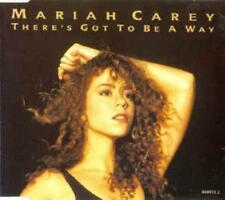 Mariah Carey: There's Got To Be A Way w/ Artwork MUSIC AUDIO CD Remix Vocal 3trk