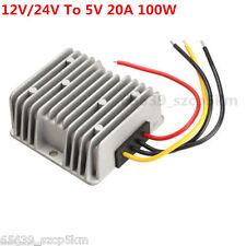 Voltage STEP-DOWN BUCK Power DC Converter Step Down Regulator 12V/24V To 5V 20A
