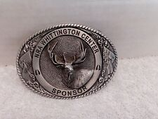 NRA Sponsor Elk Belt Buckle By PRO-HONOR DESIGN & CASTINGS