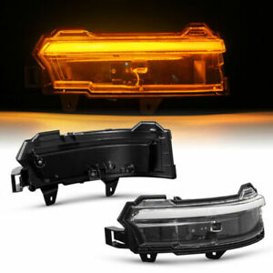 LED Indicator Mirror For Land Rover Discovery Sport L550, LC Clear Glass