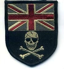 KANDAHAR WHACKER UK SAS Special Air Service CAMP BASTION FLAG SKULL νeΙ©®😎 SSI