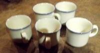 5 Ancienne Tasse à café et sous tasse