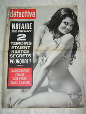 Détective 1972 SAINT DIZIER LUNAY SAINT GENIS LAVAL