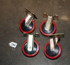 (4) Faultless Casters (Inv.29061) Creform TK-130