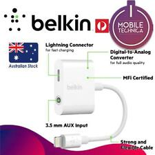 Belkin 3.5mm Audio and Charge Jack RockStar Adapter - F8J212BTWHT