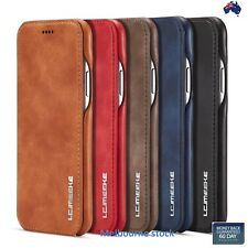 Ultra Slim Leather Wallet Flip Stand Case Cover Apple iPhone 11 Pro X/XS MAX 8 7