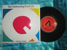 """The Swimming Pool Q's The Bells Ring A&M Records AM263 UK 7"""" Vinyl 45 Single"""