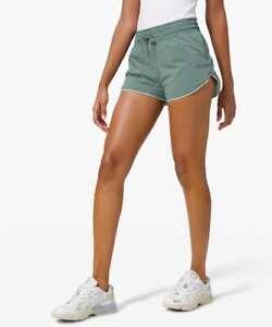 EUC Lululemon Choose a Side Shorts in Tidewater Teal/Springtime--sz 10!