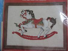 Janlynn Designs by Gloria & Pat Rocking Horse Counted Cross Stitch Kit