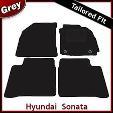 Hyundai Sonata (2005 2006 2007 2008 2009 -) Tailored Fitted Carpet Car Mats GREY