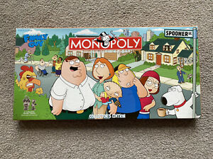 Monopoly Family Guy Collectors Edition (2006) Rare from U.S. Excellent Condition
