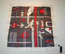 Écharpes et châles foulard rouge pour femme, en 100% soie