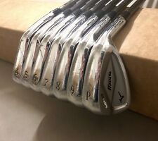Mizuno MP-63 GF Forged Irons 4-PW KBS Tour 120 X-Stiff Flex Steel Golf Club Set
