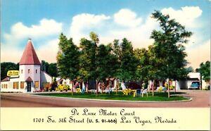 Postcard De Luxe Motor Court in Las Vegas, Nevada~1722