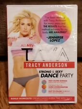 NEW SEALED Tracy Anderson - Tava:  Strong and Sexy Dance Party DVD